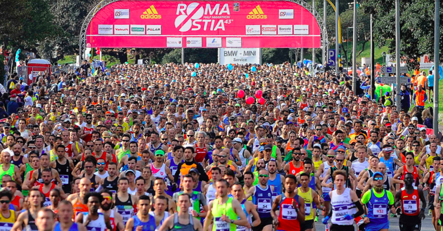11592 gli atleti che parteciperanno domenica alla Huawei Roma Ostia Half Marathon