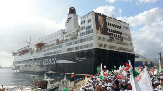 A Palermo la nave della legalità