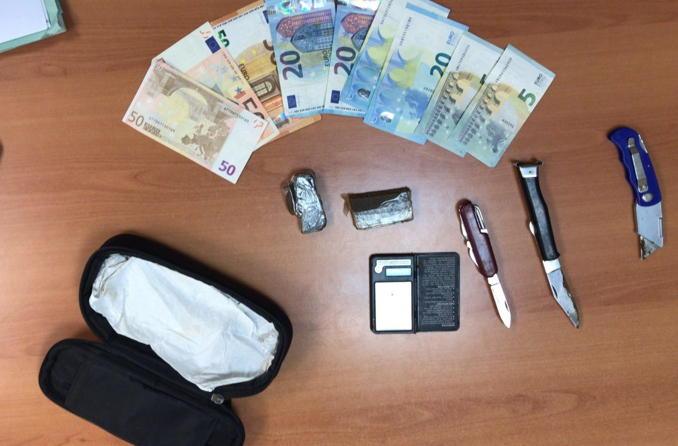 Albenga, pusher preso con cocaina e hashish destinati allo spaccio